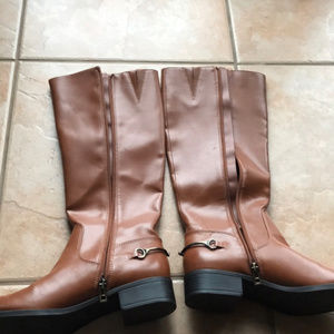 NWOB Sam & Libby Brown Riding Boots Size 10